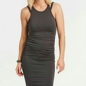 Michael Stars Double Strap Ruched Dress